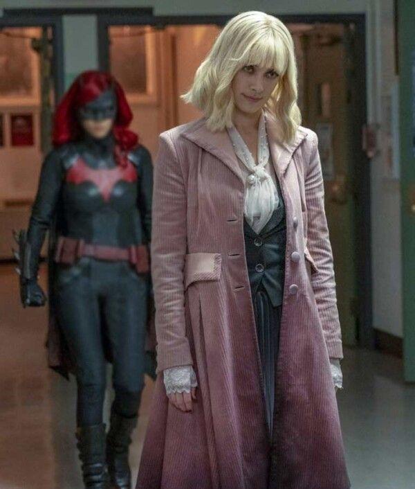 Batwoman Beth Kane Corduroy Coat