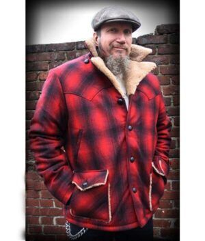 Cameron Red Plaid Jacket