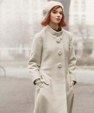 Beth Harmon White Coat