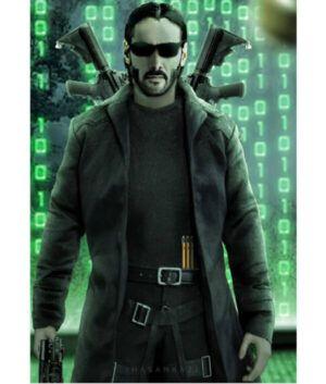 The Matrix 4 Neo Coat