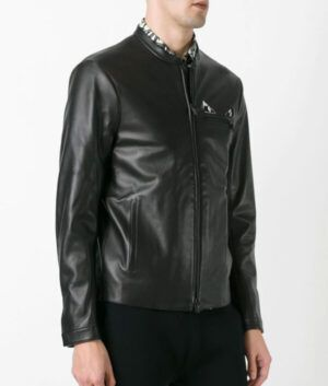 Mens Simple Black Jacket