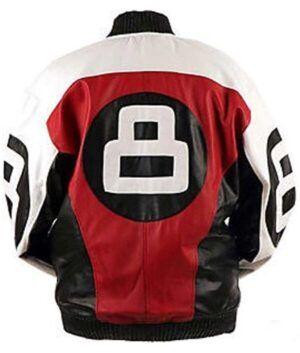Mens 8 Ball Logo Bomber Jacket