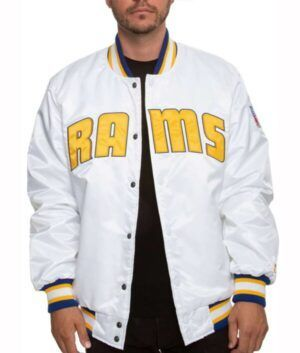 Los Angeles Rams Sleeves Jacket