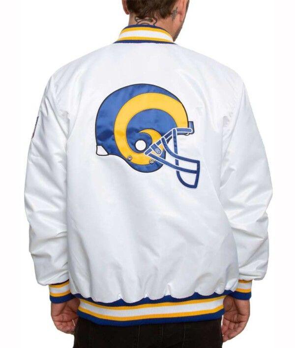 Los Angeles Rams Sleeves Jacket