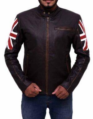 Cafe Racer UK Flag Jacket