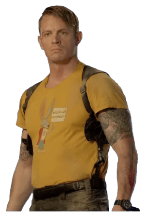 Rick Flag Yellow T-Shirt